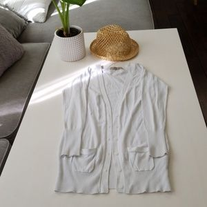 Zara white cardigan